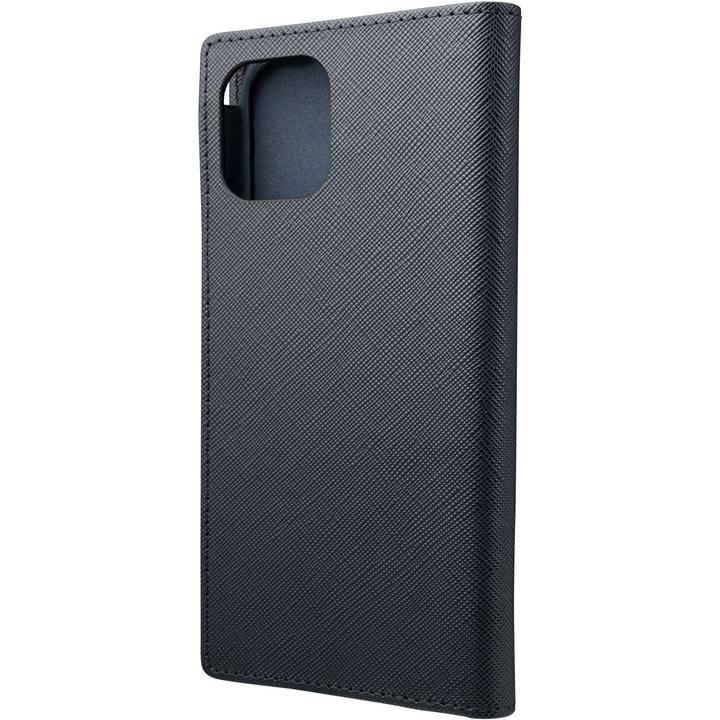 GRAMAS COLORS EURO Passione PU Leather 手帳型ケース Dark Navy iPhone 12/iPhone 12 Pro_0