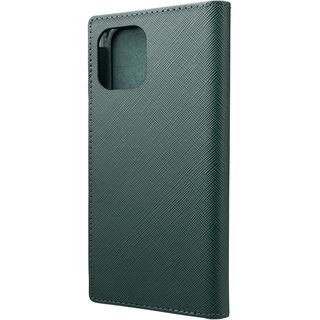 iPhone 12 / iPhone 12 Pro (6.1インチ) ケース GRAMAS COLORS EURO Passione PU Leather 手帳型ケース Forest Green iPhone 12/iPhone 12 Pro