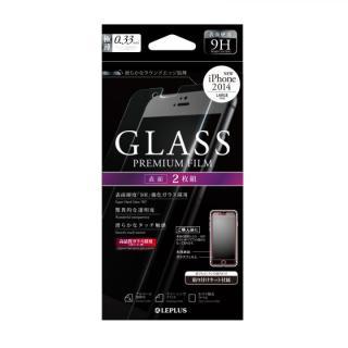 [0.33mm]強化ガラス 通常(2枚組) iPhone 6 Plus強化ガラス