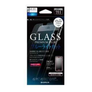 [0.33mm]強化ガラス ブルーライトカット iPhone 6 Plus強化ガラス