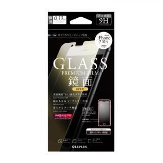 [0.33mm]強化ガラス ミラーゴールド iPhone 6 Plus強化ガラス