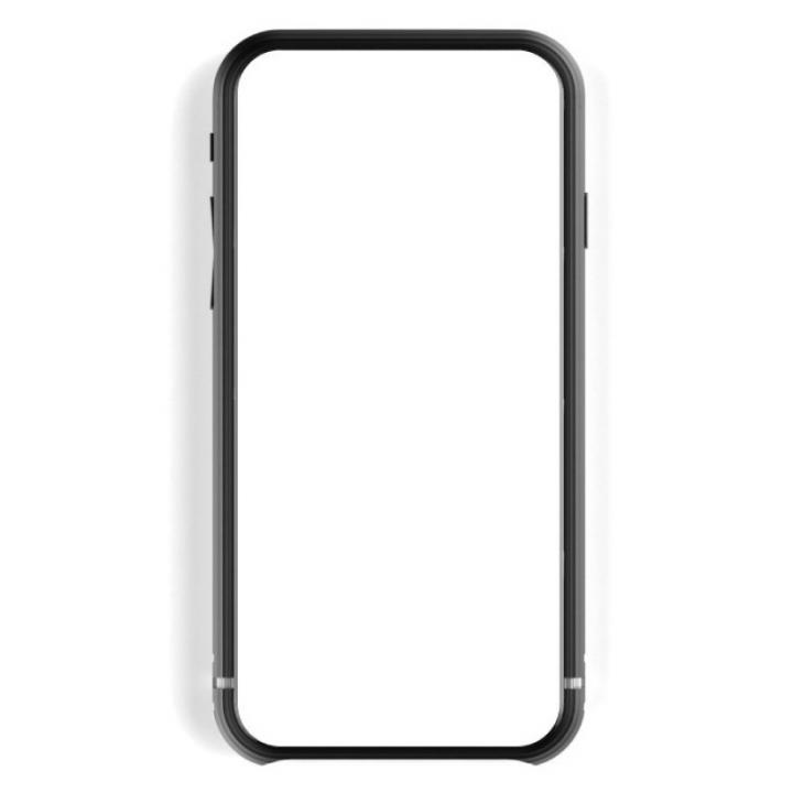 超々ジュラルミンA2017  SQUAIR The Edge ブラック iPhone 6バンパー