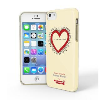 iPhone 5c用プレミアムジェルシェルケースCharlize Theron