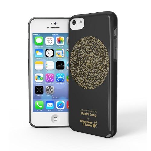 iPhone 5c用プレミアムジェルシェルケースDaniel Craig_0
