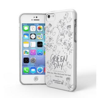 iPhone 5c用プレミアムジェルシェルケースGreen Day
