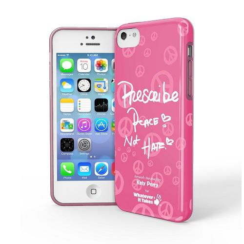 iPhone 5c用プレミアムジェルシェルケースKaty Perry_0