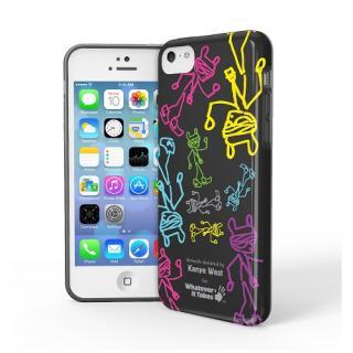 iPhone 5c用プレミアムジェルシェルケースKayne West