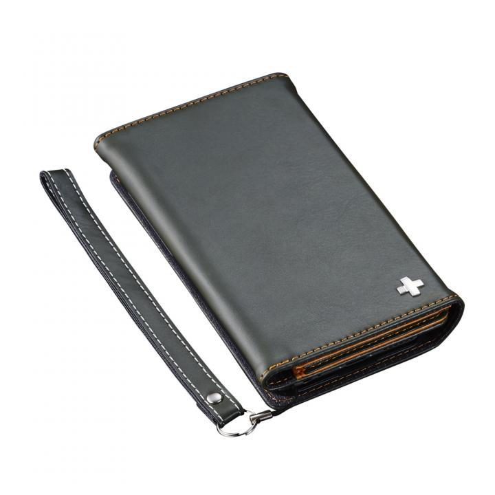 iPhone6s ケース 3つ折りノート手帳型ケース BillFold グリーン iPhone 6s/6_0