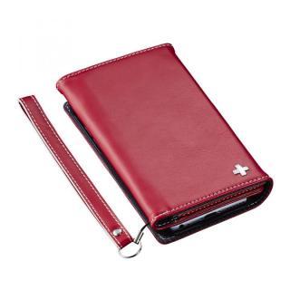 3つ折りノート手帳型ケース BillFold レッド iPhone 6s Plus/6 Plus