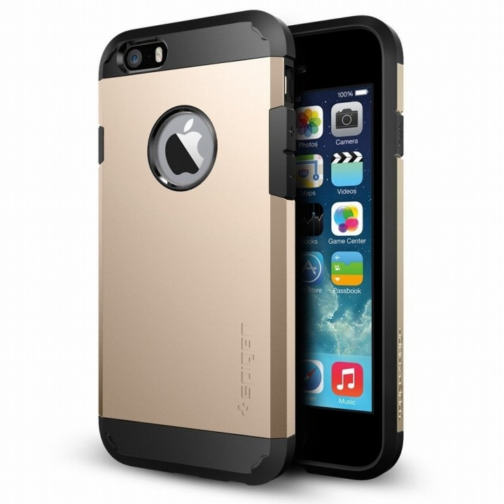【iPhone6ケース】Spigen タフ・アーマー シャンパンゴールド iPhone 6ケース_0