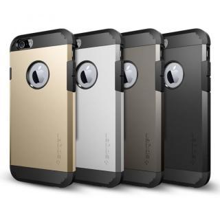 【iPhone6ケース】Spigen タフ・アーマー ガンメタル iPhone 6ケース_1