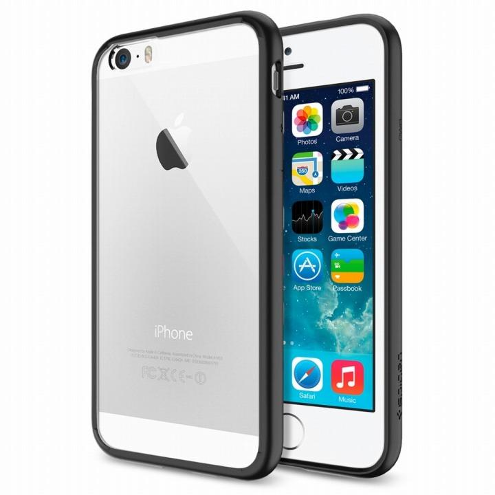 【iPhone6ケース】Spigen ウルトラ・ハイブリッド ブラック iPhone 6ケース_0