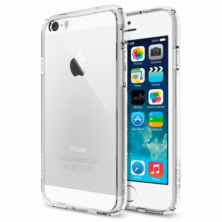 【iPhone6ケース】Spigen ウルトラ・ハイブリッド クリスタルクリア iPhone 6ケース_0