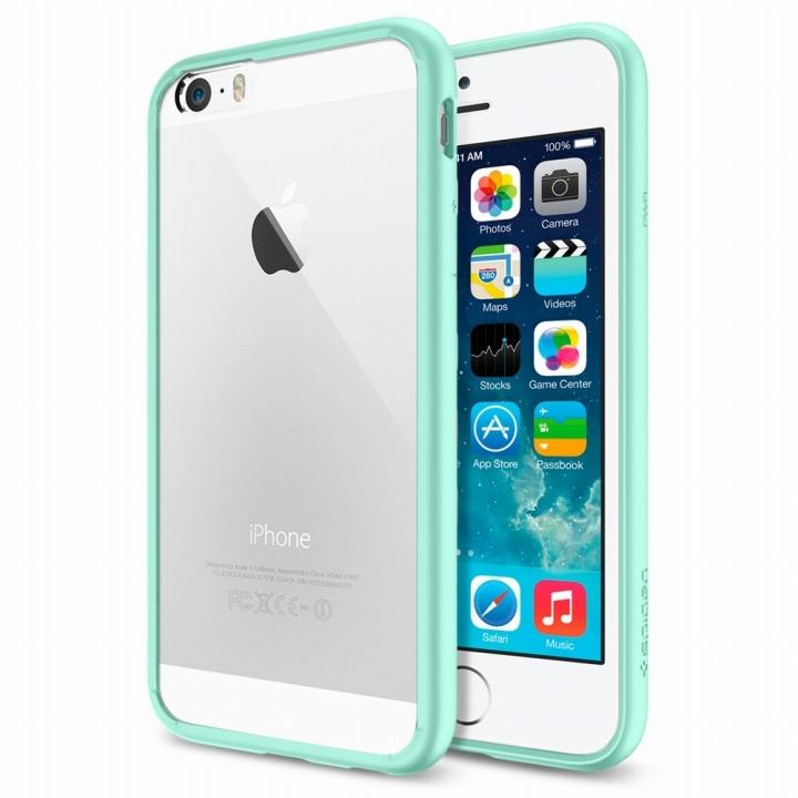 【iPhone6ケース】Spigen ウルトラ・ハイブリッド ミント iPhone 6ケース_0