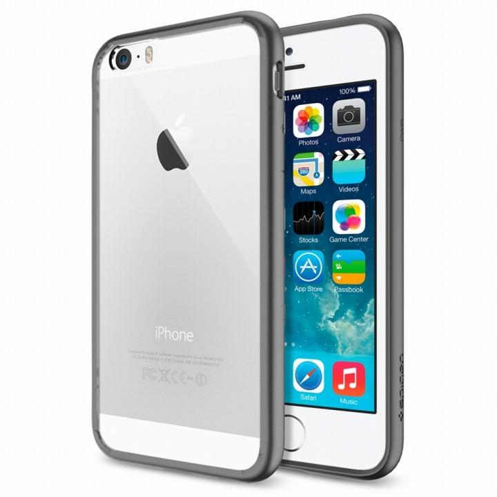 【iPhone6ケース】Spigen ウルトラ・ハイブリッド ガンメタル iPhone 6ケース_0