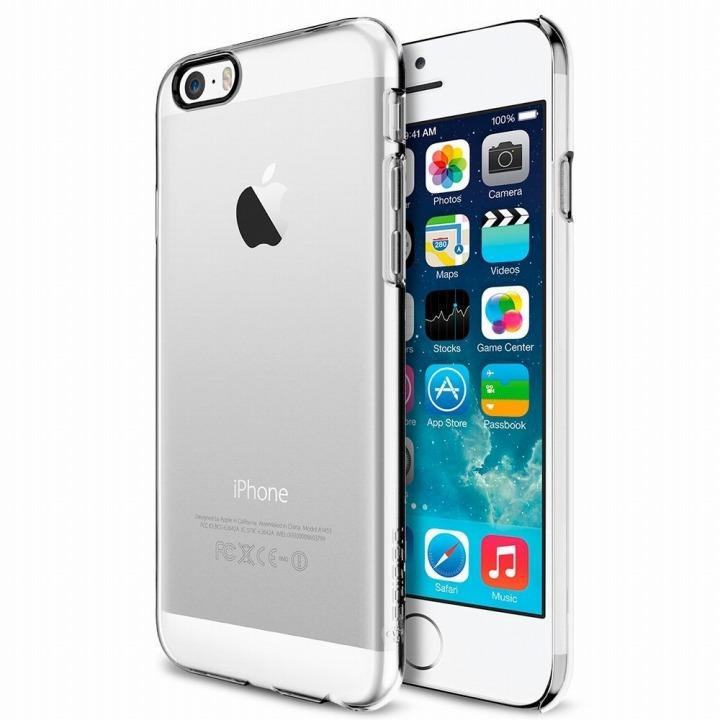 iPhone6 ケース Spigen シン・フィット クリスタルクリア iPhone 6ケース_0