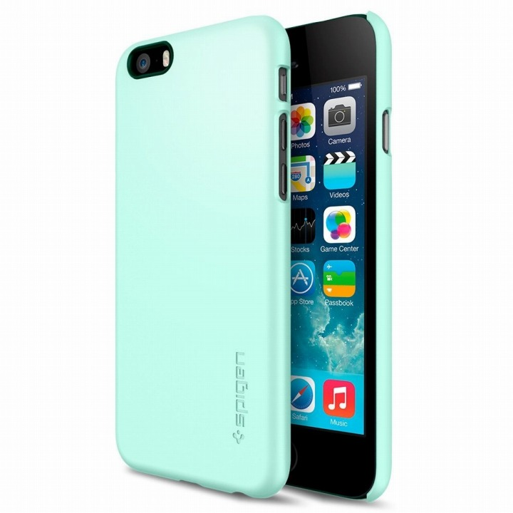 【iPhone6ケース】Spigen シン・フィット ミント iPhone 6ケース_0