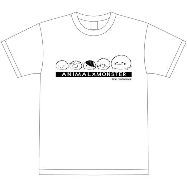 アニマルモンスター アニモン Tシャツ モッチシリーズ ホワイト Mサイズ_0