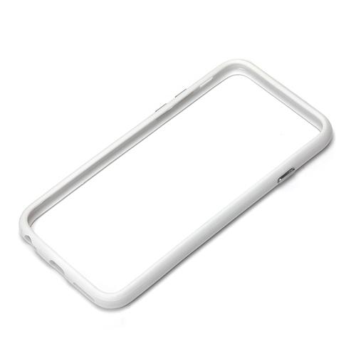 【iPhone6ケース】ハイブリッドバンパー ホワイト iPhone 6バンパー_0