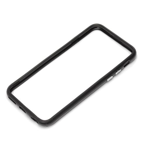 【iPhone6ケース】ハイブリッドバンパー ブラック iPhone 6バンパー_0