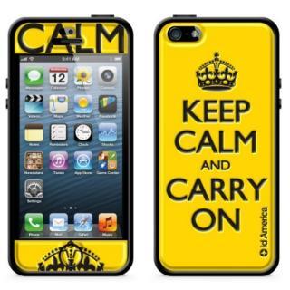 iPhone SE/5s/5 ケース id America Cushi Plus iPhone5-keep 【yellow】