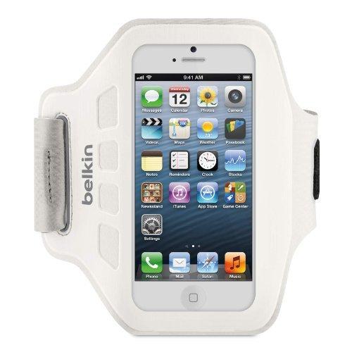 iPhone SE/5s/5 ケース Ease Fit iPhone 5c/5s/5 アームバンド (ホワイト)_0