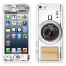 id America Cushi Plus iPhone5-Camera 【White】
