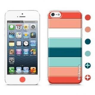 id America Cushi iPhone SE/5s/5-Stripe 【Orange】