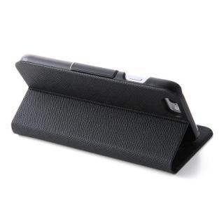 【iPhone6s/6ケース】スマートレザー手帳型ケース ブラック iPhone 6s/6_6