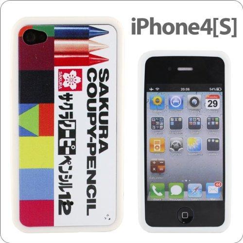 [iPhone 4s/4] サクラクレパスiPhoneケース(クーピーペンシル)