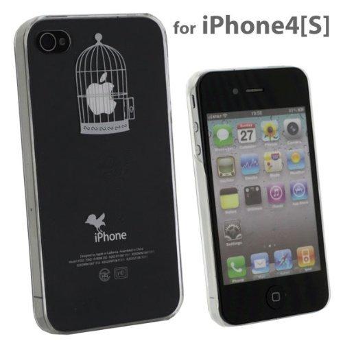 [iPhone 4s/4] Applusアップラスハードクリアケース(ホワイト/籠の中)_0