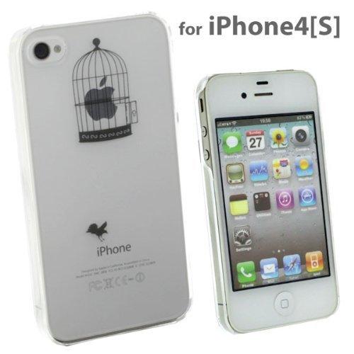 [iPhone 4s/4] Applusアップラスハードクリアケース(ブラック/籠の中)_0