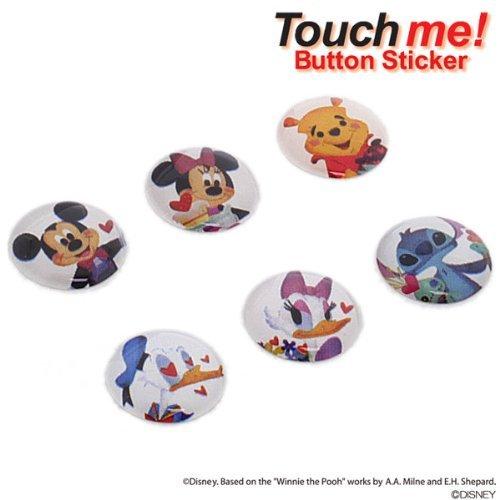 ディズニー Touch me!110th Anniversaryホームボタンにピッタリのステッカー