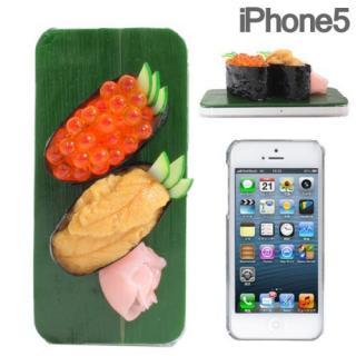 食品サンプルケース iPhone 5 ウニ、イクラ