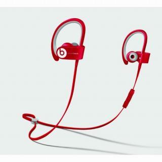 Beats Powerbeats2 ワイヤレスヘッドフォン - レッド