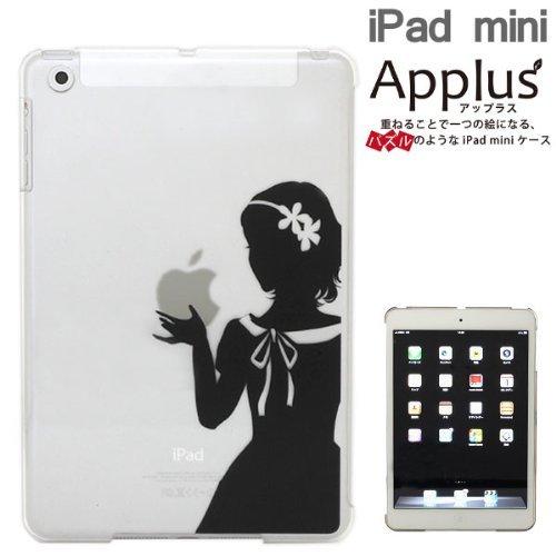 iPad mini/2/3Applusアップラスハードクリアケース(スノーホワイト)_0