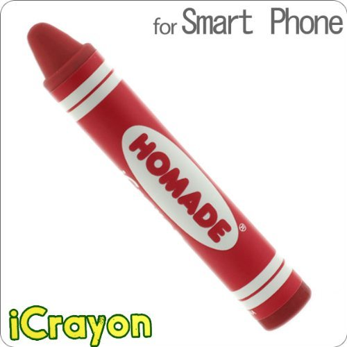 クレヨンスタイラスペン iCrayon(レッド)_0