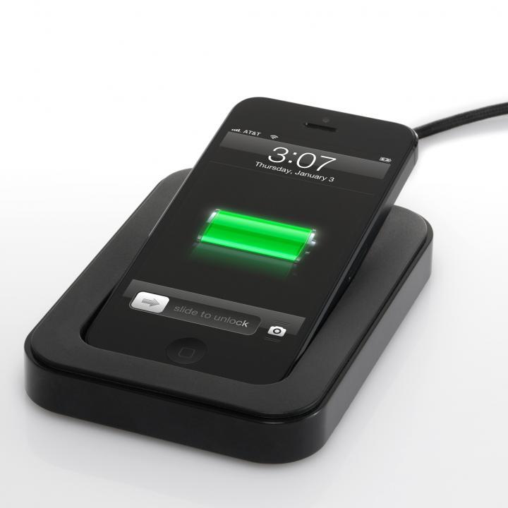 サイドカ・Lightning iPhone用充電スタンド(ブラック)_0
