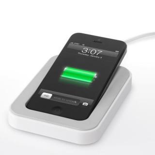 サイドカ・Lightning iPhone用充電スタンド(ホワイト)