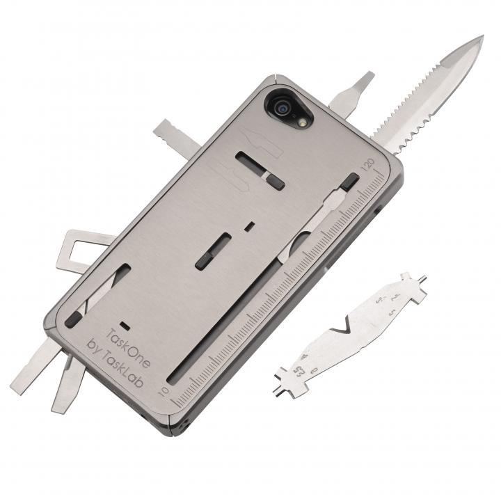 【iPhone SE/5s/5ケース】工具内蔵ケース TaskOne(タスク・ワン)  グレー iPhone SE/5s/5_0