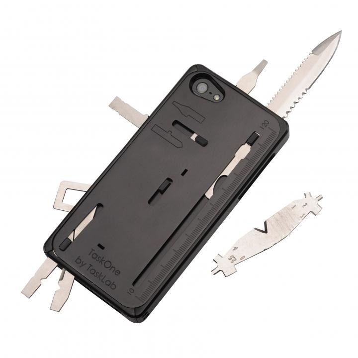 【iPhone SE/5s/5ケース】工具内蔵ケース TaskOne(タスク・ワン)  ブラック iPhone SE/5s/5_0