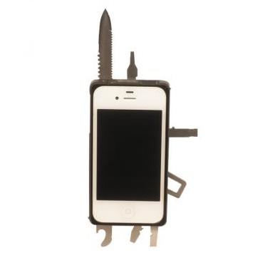 工具内蔵ケース TaskOne(タスク・ワン)  ブラック iPhone 4s/4_0