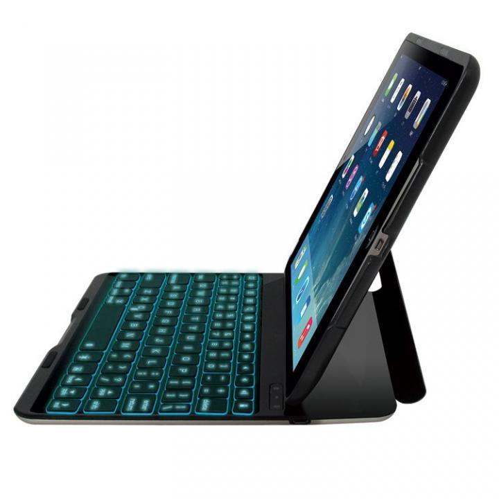 バックライト搭載 Bluetoothキーボード ブラック iPad Airケース