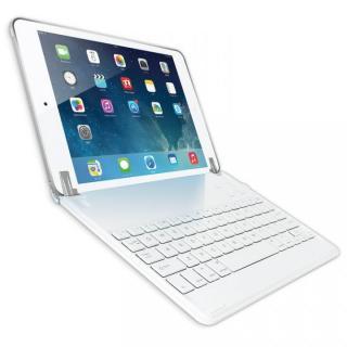 ノートタイプ Bluetoothキーボード ホワイト iPad Airケース