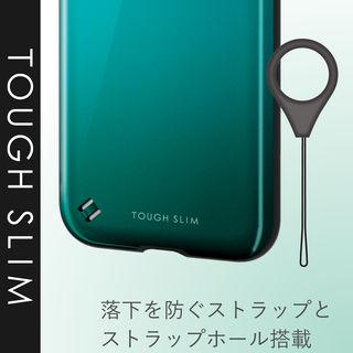 【iPhone XRケース】TOUGH SLIM2 2トーンカラーケース グリーン iPhone XR_1