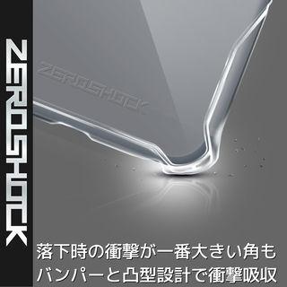 【iPhone XRケース】ZEROSHOCK 耐衝撃吸収ケース スタンダード インビジブルクリア iPhone XR_1