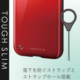 【iPhone XRケース】TOUGH SLIM2 2トーンカラーケース レッド iPhone XR_5