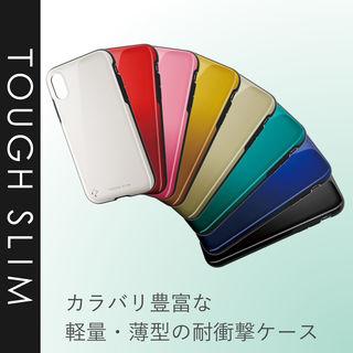 【iPhone XRケース】TOUGH SLIM2 2トーンカラーケース グリーン iPhone XR_3