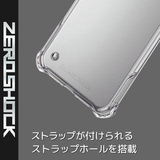 【iPhone XRケース】ZEROSHOCK 耐衝撃吸収ケース スタンダード インビジブルクリア iPhone XR_4
