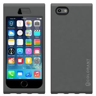 iPhone6 ケース 脱着可能なネックストラップ付き Colorant Link ネックストラップケース シルバー iPhone 6ケース